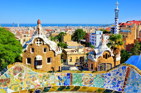 Antoni Gaudi's Park Guell