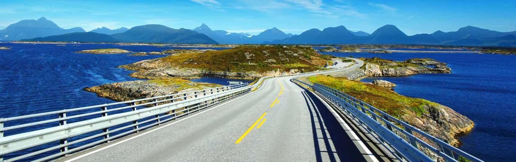 Auto mieten in Norwegen