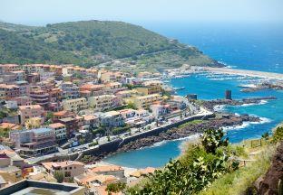 Castelsardo Sardinien