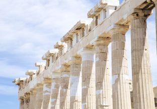 Parthenon Athen Flughafen