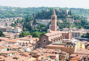 Stadtlandschaft Verona Flughafen