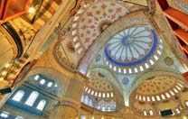 Blau Moschee in der Türkei